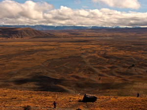 MacKenzie Country now a degraded dry land environment