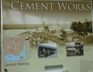 cement works poster